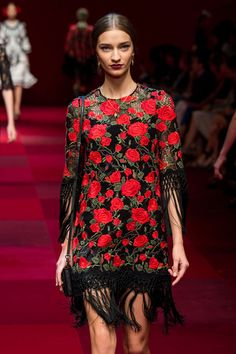 Dolce & Gabbana Printemps/Eté 2015, Womenswear - Défilés (#19723)