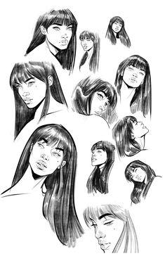 Comic Style Art, Comic Styles, Comic Art, Comic Drawing Styles, Anatomy Reference, Art Reference Poses, Art Et Design, Wonder Woman Art, Dc Comics Art
