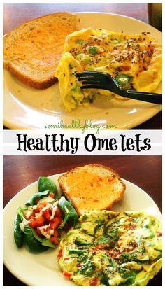healthy  omelets #breakfast #eggs