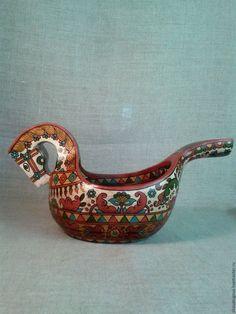 Купить Ковш коник - ковш, коник, русский стиль, русский сувенир, русская традиция