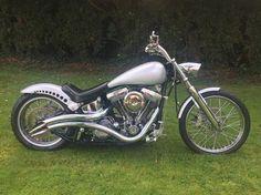 Harley Davidson Softail Bobber Chopper