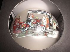 Harley-Davidson 2008 Holiday Bulb Ornament, Santa at The Pump Harley Davidson Gifts, Harley Davidson Motorcycles, Hanging Ornaments, Ball Ornaments, Harley Davison, Bulb, Amazon, Antiques, Holiday