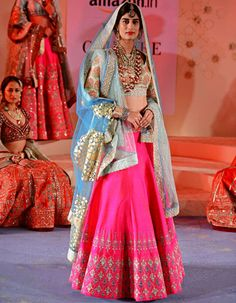 Finding Skittles :) • Amazon India Couture Week 2015: Anju Modi Kashish...
