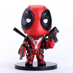1 Piece Deadpool Q Version PVC Action Figure Collectible Toy 13.5 cm. @ niftywarehouse.com