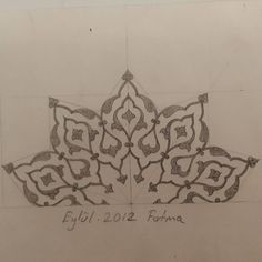 Islamic Motifs, Islamic Art Pattern, Persian Motifs, Pattern Art, Printable Stencil Patterns, Illumination Art, Arabesque Pattern, Arabic Calligraphy Art, Iranian Art