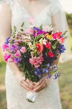 Morning glory bouquets