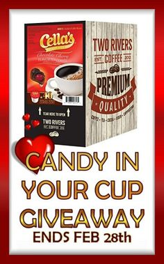Ogitchida Kwe's Book Blog : Two Rivers Coffee Candy In Your CUP Giveaway!