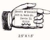 Need new address stamp :)