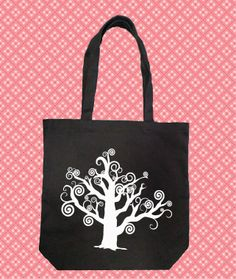 Spiral Tree Handbag/Tote Bag - $14.99 - Handmade Accessories, Crafts and Unique Gifts by The Spot