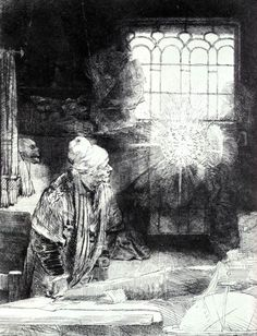 The Magician by Rembrandt