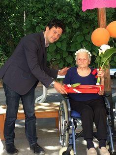 Nonna Giovanna compie 101 anni nella casa di riposo le Grazie; gli auguri dellAmministrazione comunale di Rimini