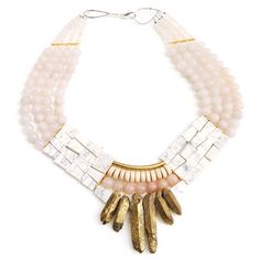 Protea Necklace, $220, now featured on Fab.