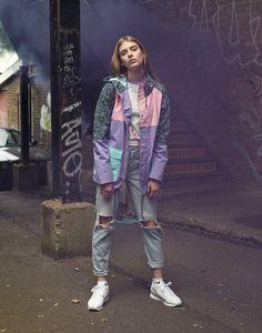 Oafski Mac Jacket & Lets Make Out Crop Top