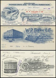 Fuller Paints (Oakland California) 1890s by peacay, via Flickr