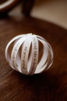 Poetry Lesson...  This would be a GREAT way for students to display a poem they have written - these would be beautiful hung on a Christmas poet-tree!