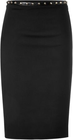 Black Rock Stud Pencil Skirt - Lyst  vERACE (a favourite repin of VIP Fashion Australia - providing a portal to exclusive fashion au and style from across the globe.  www.vipfashionaustralia.com - Specialising in blacklabel fashion - womens clothing Australia - global fashion houses - Italian fashion and fashion boutiques )
