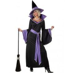 Incantasia Heks Halloween Vrouw Kostuum - Feestkleding 365