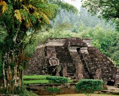 Candi Sukuh (Java, Indonesia)  500BC-1430 - built using the same architectural principles as the pyramids in Mexico and Guatemala.