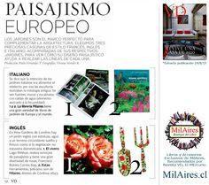 Libros de Paisajismo Europeo... - MilAires, Boutique del Libro.
