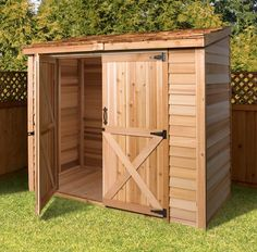 Cedarshed | Bayside 8x4 Shed Kit | On Sale Now