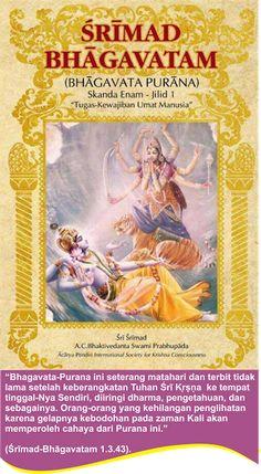 Sanatana Dharma Indonesia: Srimad Bhagavatam 1.3.43