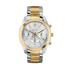Caravelle New York by Bulova Watch - Women's Two Tone Stainless Steel Chronograph