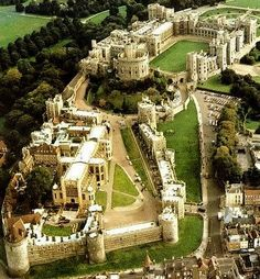 Windsor Castle - the largest inhabited castle in the world and the longest-occupied palace in Europe. It also remains a functioning royal home. As of 2006 around five hundred people were living and working in the castle. The Queen has increasingly used the castle as a royal palace as well as her weekend home. . . yikes.