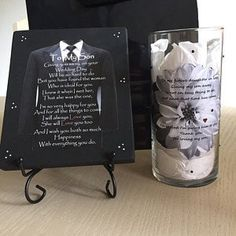 Future Daughter in Law Candle Holder Daughter in Law Gift Bridal Shower Gifts, Bridal Gifts, Wedding Gifts, Wedding Ideas, Lighted Wine Bottles, Bottle Lights, Daughter In Law Gifts, Future Daughter, Engagement Gifts For Him