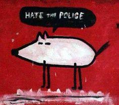 Tu Quoque Punk? Dalle avanguardie all'ultima generazione punk di Modena [e dintorni] _ Cayce's Lab, marzo 2014, Hate the Police, di Alessandro Formigoni