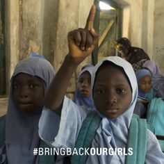 Bring Back Our Girls. We join UNICEF's call for the immediate and unconditional release of the over 230 girls abducted from their boarding school in Borno State, #Nigeria,  #BringBackOurGirls