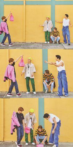 Suho, Chen, Kai, Chanyeol - 190911 Fourth official photobook 'PRESENT ; the moment' Credit: luvfor_m. Exo Ot12, Chanbaek, Baekhyun, Exo For Life, In This World, Exo Group, Exo Lockscreen, Exo Album, Kpop Exo