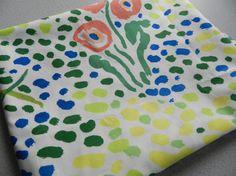 1986 . Laguna pattern fabric by John Botz for Brunschwig & Fils.