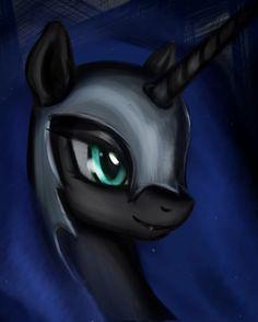 nightmare moon   Nightmare Moon by mindlesshead