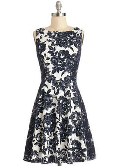 Meet at the Museum Dress, #ModCloth