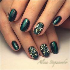 ideas cats eye nails gel green for 2019 Nail Art Arabesque, Gothic Nail Art, Nail Drawing, Elegant Nail Art, Short Square Nails, Gel Nagel Design, Cat Eye Nails, Painted Nail Art, Finger