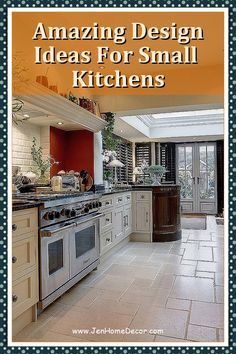 If you have a small kitchen, every inch of counter space is prime real estate. Take your tiny space to the max with these smart (and sneaky!) ideas. Decorating Kitchen, Kitchen Decor, Counter Space, Modern Spaces, Country Kitchen, Kitchen Appliances, Real Estate, Canning, Ideas