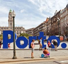 Liberdade Square in the historical center of Porto, Portugal | What to Do in Porto in 3 Days