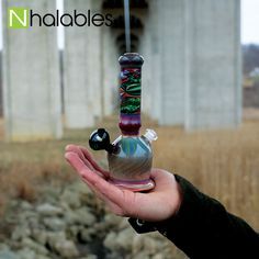 Always great seeing two amazing local artists working together to create something magnificent.  The crazy vortex marble was created by @harrymarbleman and the tube was created by @holden.glass both of these cats are shop favorites   Free Two Day Shipping on all Insta Orders  11am-11pm 330-879-8645 1147 Pearl Road Brunswick, OH 44212  #nhalables #harrymarbleman #holdenglass #weshouldsmoke #glasslove #glassporn #glassblowing #glassart #glass #glasslife #headyglass #glassofpinterest #glasslove…