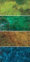 春夏秋冬系列 The four seasons series 4 works by Liu Kuo Sung