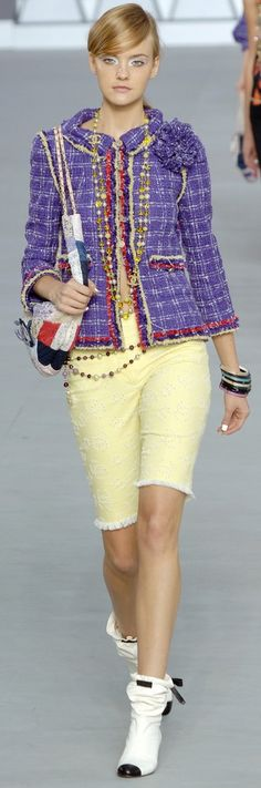 Color fashion Glam / Chanel Spring 2006