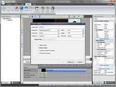 VSDC Free Video Editor :: creating new project (ONLY ON PC)
