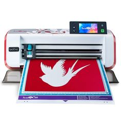 Brother ScanNCut Fabric Paper Cutting Machine+Built-In Scanner 220 VOLT for sale online Best Cricut Machine, Vinyl Printer, Paper Cutting Machine, Screen Printing Machine, Embossing Machine, Scan N Cut, Brother Scan And Cut, Vinyl Cutter, Free Sewing