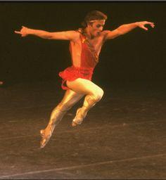 "New York City Ballet production of ""The Four Seasons"" with Mikhail Baryshnikov, choreography by Jerome Robbins (New York)"