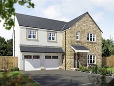 Houses for sale in Larbert, Stirlingshire, New Homes For Sale, Scotland, Shed, Farmhouse, Houses, Outdoor Structures, Homes, House, Cottage