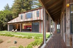 This project was designed for a San Francisco couple with six children – with ages ranging from high school to college. The property is located inland from t...