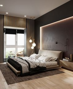 Fascinating Useful Ideas: False Ceiling Rustic Dream Kitchens false ceiling design unfinished basements.False Ceiling With Wood Ideas false ceiling design for restaurant. Modern Bedroom Decor, Stylish Bedroom, Living Room Modern, Home Living Room, Bedroom Ideas, Modern Decor, Modern Lamps, Bedroom Designs, Bedroom Inspiration