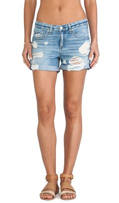 boyfriend jean shorts- Rag & Bone