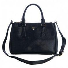 c37e36ef25db £131.00 Sale Prada Classic Saffiano Leather Medium Tote Bag Bn1801 Black  Store New York Prada
