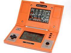 Nintendo Game & Watch Multi Screen Donkey Kong DK-52 MIJ 1982 Great Condition_02 #Nintendo