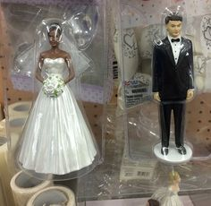 Yep. Wedding topper
